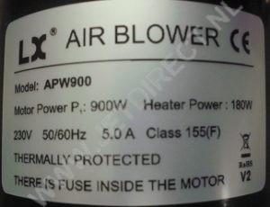 apw-900-heater
