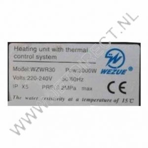 wzwr30-heater