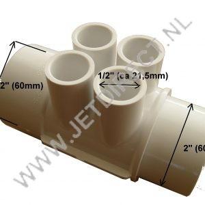 water-verderler-4-poort-60-mm