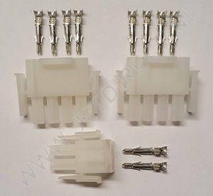 amp-stekker-set